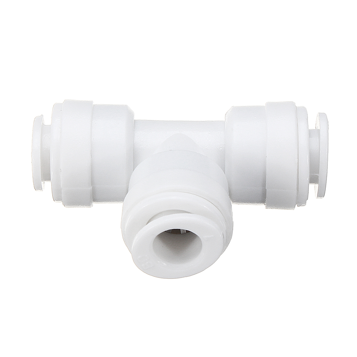 1/4 Inch Tee Type Water Tube Quick Connector Fittings Pipes for Water Filters Water Purifiers