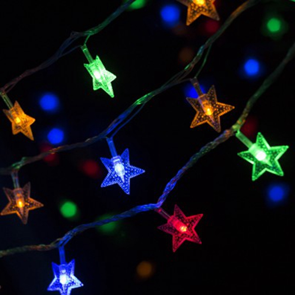 christmas 255m led star string lights led fairy lights for festival christmas party wedding