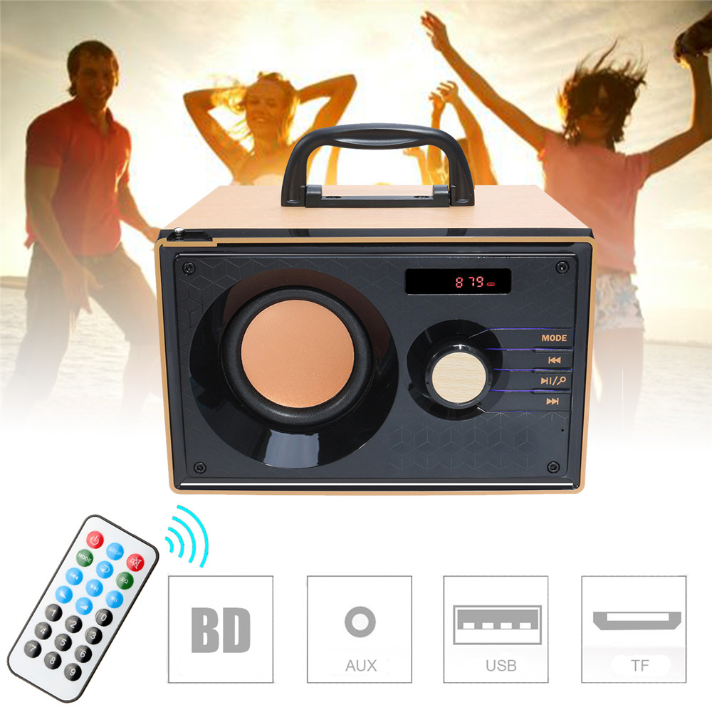 Stereo bluetooth Speaker Subwoofer Heavy Bass Wireless Boombox Sound For Tablet Cellphone