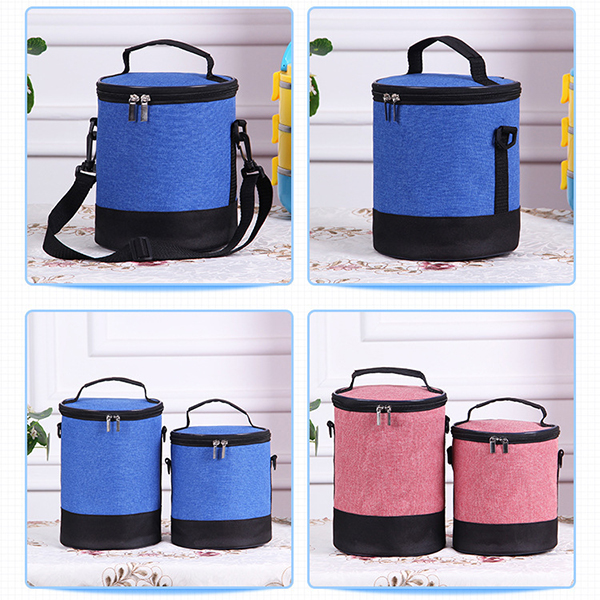 Muti-funtiion Lunch Bag Oxford Cloth Waterproof Lunch Bag Fashion Cooler Storage Bag Pinic BBQ Bag
