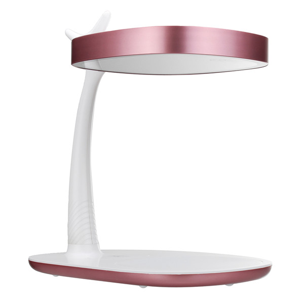 QI Wireless Charger Makeup Mirror LED Night Light Touch Screen 360° Rotation Desk Lamp