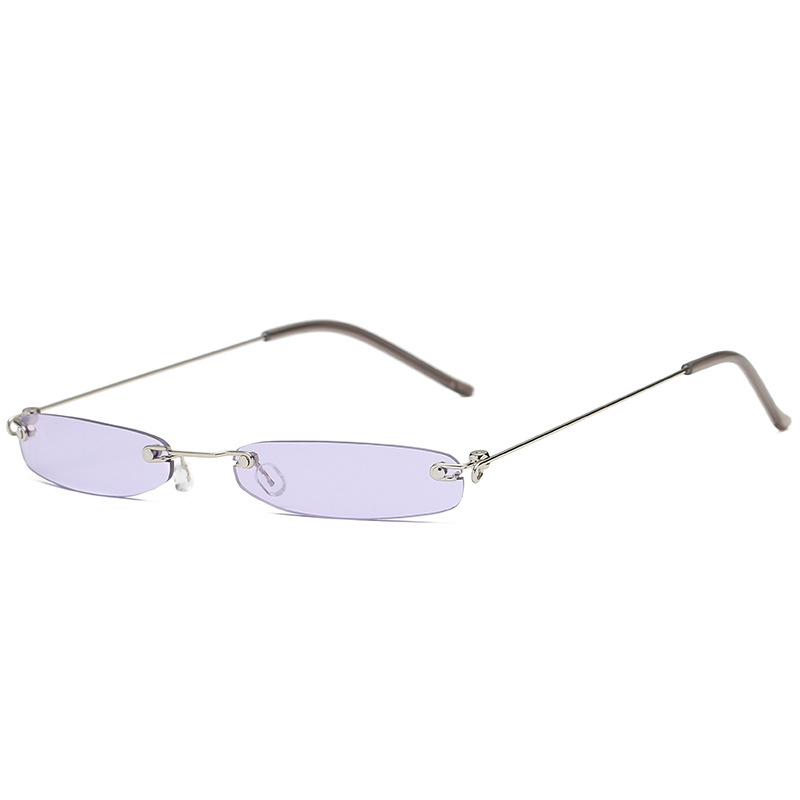 Women Vintage UV400 Square Frame Sunglasses