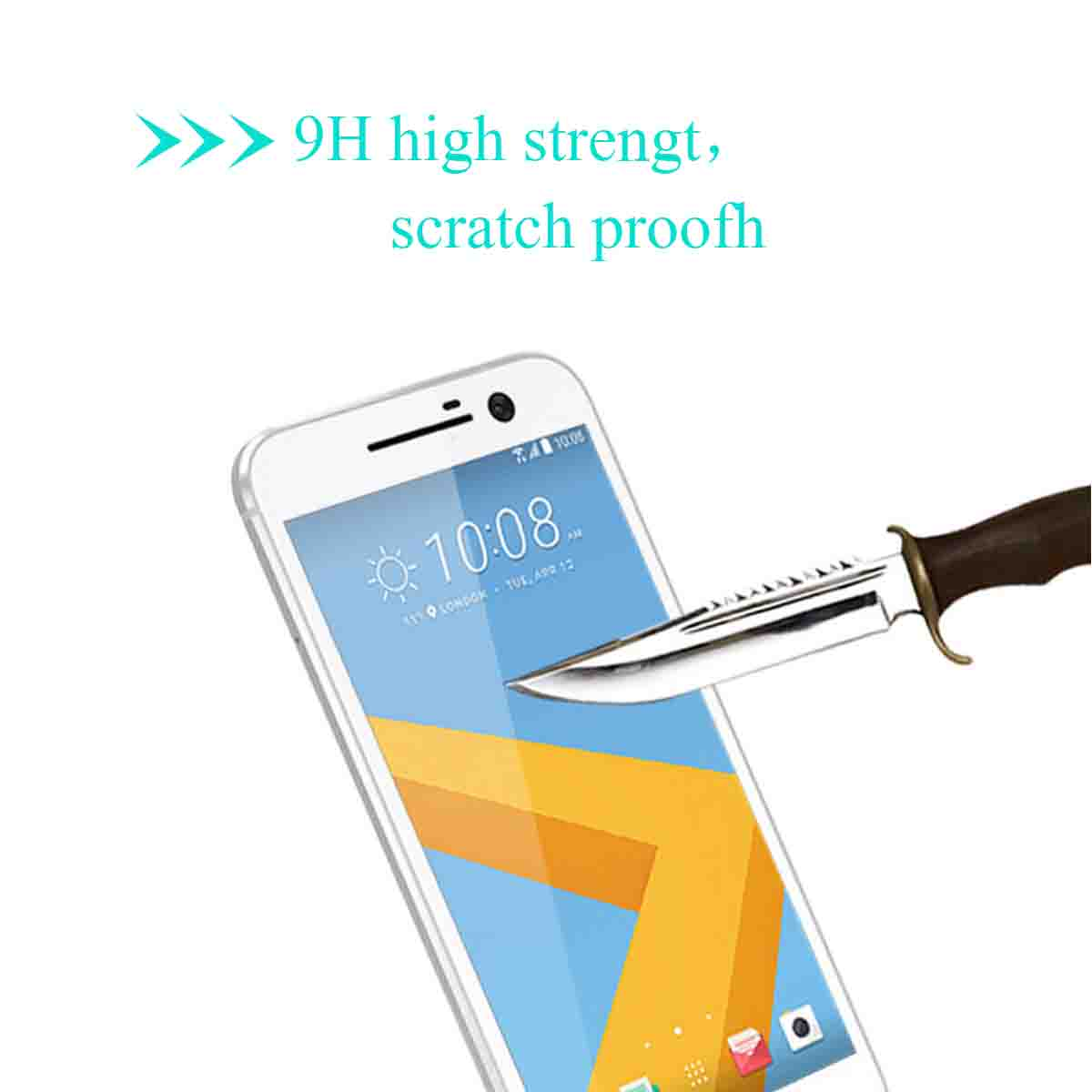 9H 3D Full Screen Cover Tempered Glass Screen Protector Touch Screen Cover For HTC 10