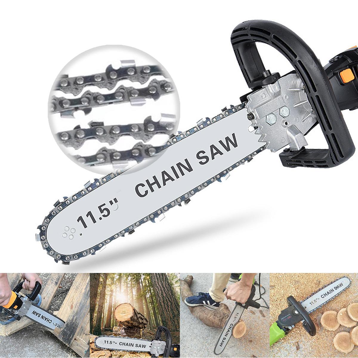 220V 650W Electric Chain Saw Angle Grinder Chain Saw Bracket Set Chainsaw Bracket Woodworking Tool