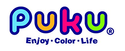 PUKU Kids Bowl Silicone Suction for Child Baby Training Feeding Spill Proof Tableware BPA- Free