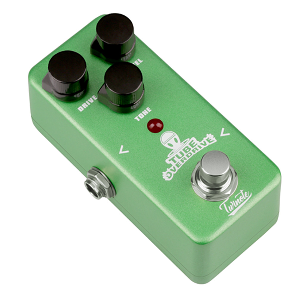 Twinote TOD-1 Overdrive Guitar Effects Pedal with Nature and Warm Tube Overdrive Sound Coupon 9db38e