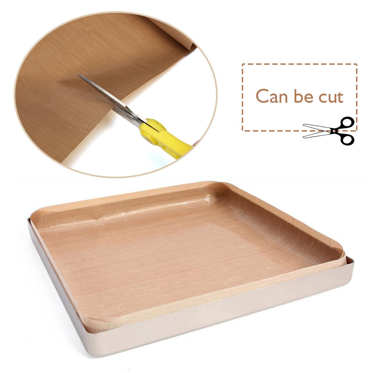3Pcs 33x40cm Non-Stick Heat Press Transfer PTFE Teflon Film Sheet Plate Baking Mat