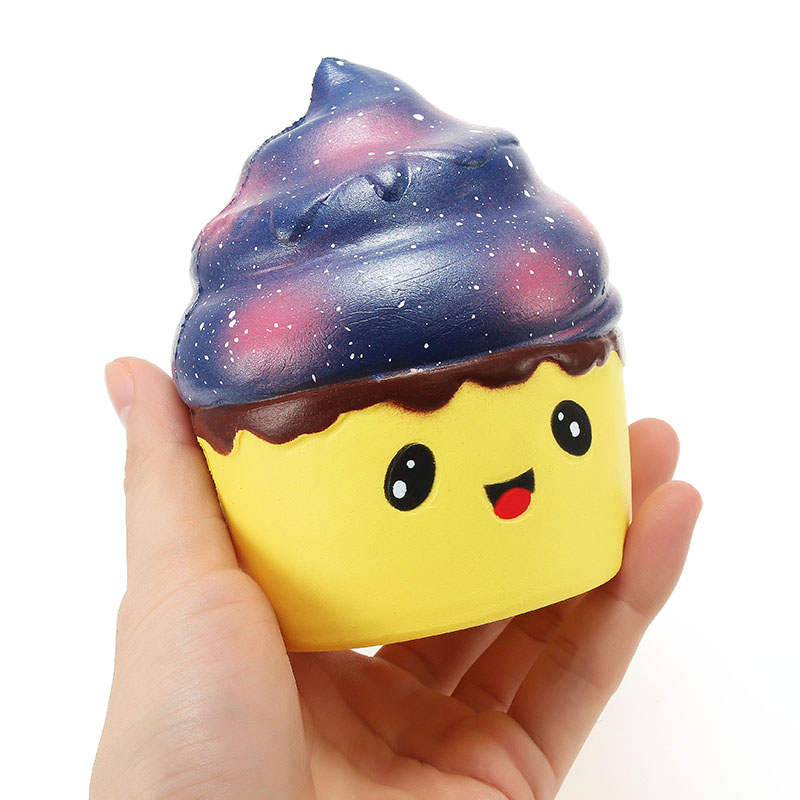Xinda Squishy Ice Cream Cup 12cm Soft Slow Rising With Packaging Collection Gift Decor Toy