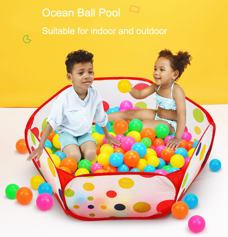 Folding Kids Ocean Ball Pool Portable Outdoor Indoor Child Toy Tent