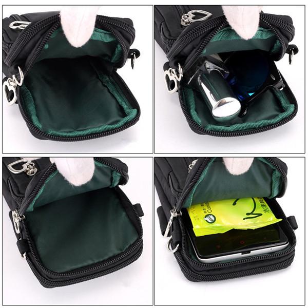 Women Nylon Water Resistant Crossbody Bag