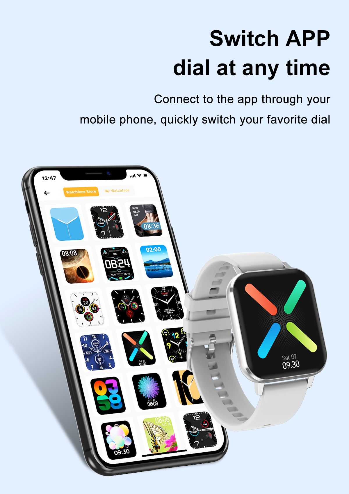 [Dual Menu Style]DT NO.1 DTX 1.78'' High Resolution Full Touch Screen ECG Heart Rate Blood Pressure Oxygen Monitor Multiple Dial IP68 Waterproof BT5.0 Smart Watch