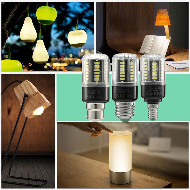 ARILUX® HL-CB 05 E27 E14 B22 5W 7W 9W 12W 15W 18W No Flicker Constant Current LED Corn Light Bulb AC85-265V