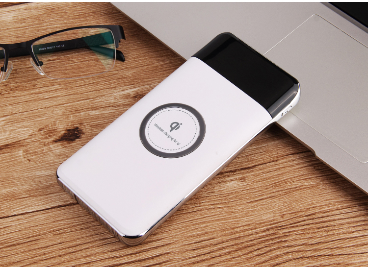 Bakeey Type C Qi Wireless Dual USB DIY Power Bank Case Batteries Box for Samsung S8 iPhone 8