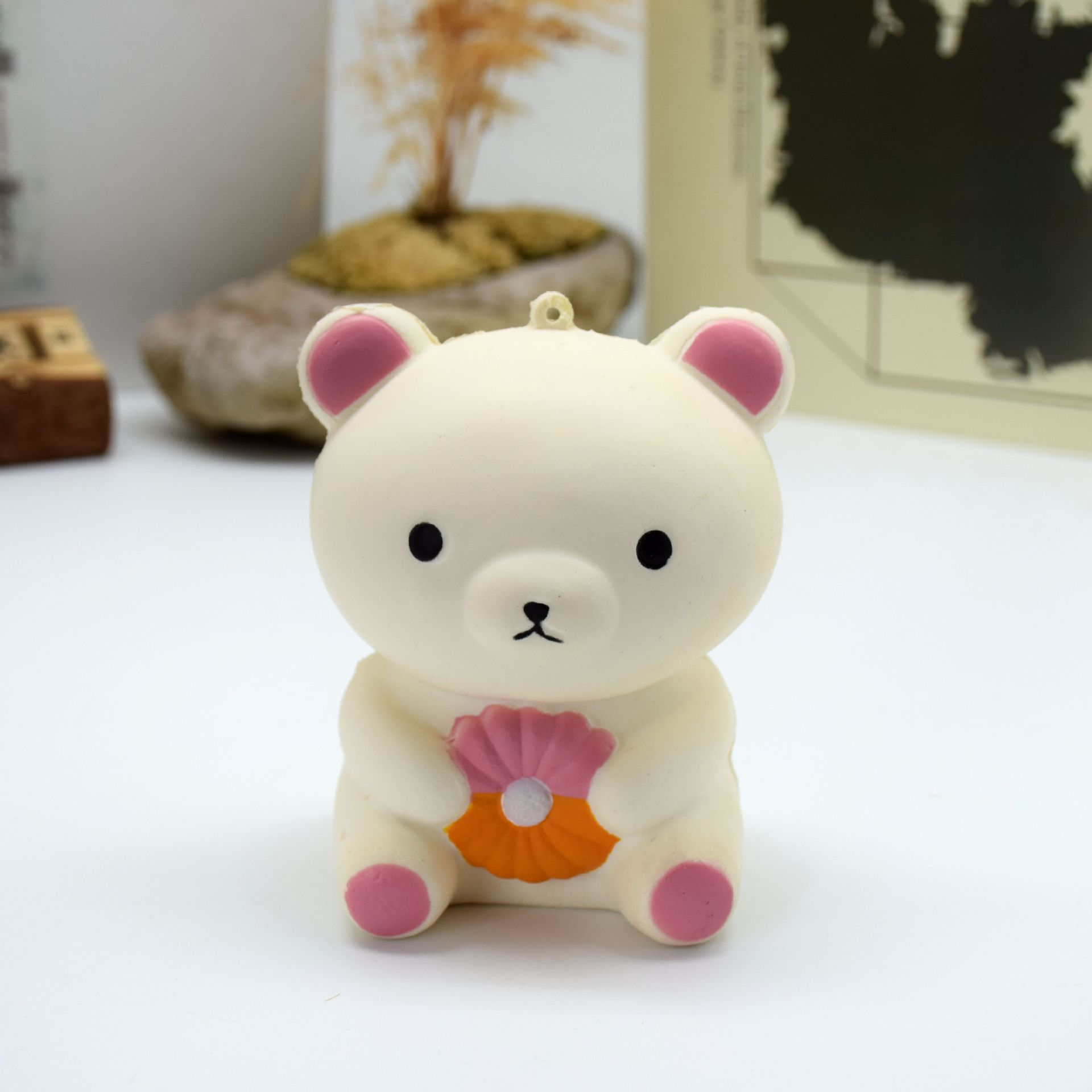 PU Cute Bear Slow Back To Toy Squishy Pressure Relief Toys Random Color