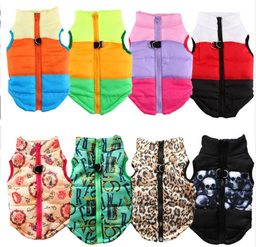 Dog Clothes For Small Dog Windproof Winter Pet Dog Coat