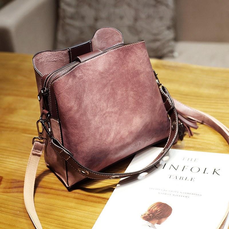 women vintage faux leather crossbody bag shoulder bags bucke at Banggood 587f72e4ac015