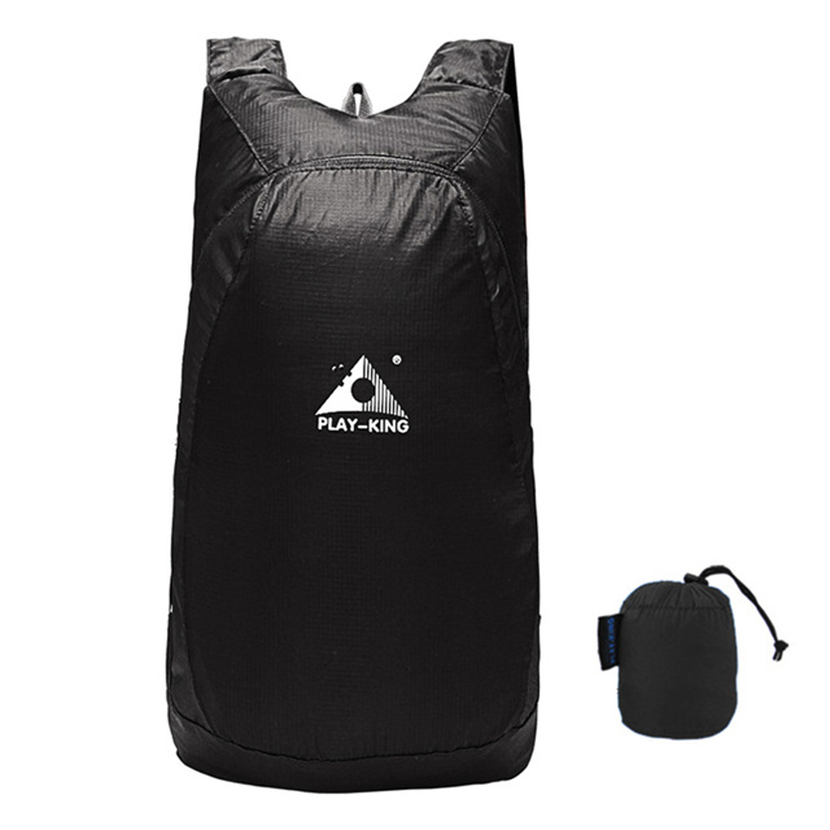 b3709c3d978a 20L Foldable Waterproof Outdoor Climbing Bags Athletic Sport Hiking Travel  Backpack (COLOR  BLACK)