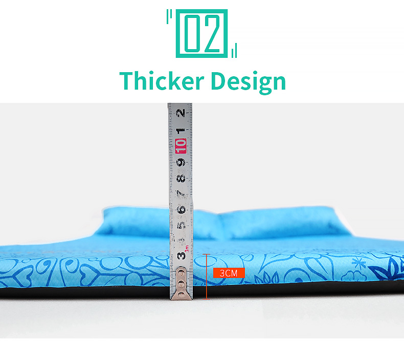 Trackman TM2219 Outdoor Camping Sleeping Mattress Automatic Inflatable Cushion Pad 2 Person Tent Mat