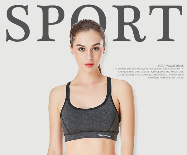 Full Coverage Shockproof High Elastic Sports Bra