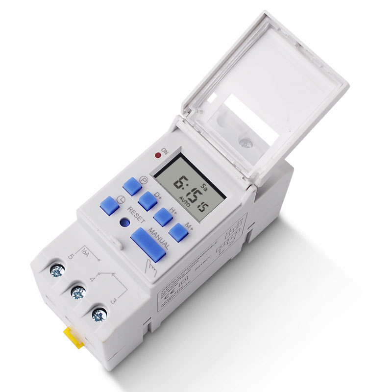 220V 110V 24V 12V Microcomputer Electronic Programmable Digital TIMER SWITCH Time Relay Control