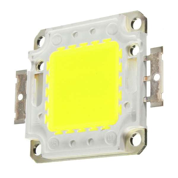 LUSTREON 8W DIY 800lm LED Chip Board Panel Bead with DC12V LED Power Supply Driver Transformer