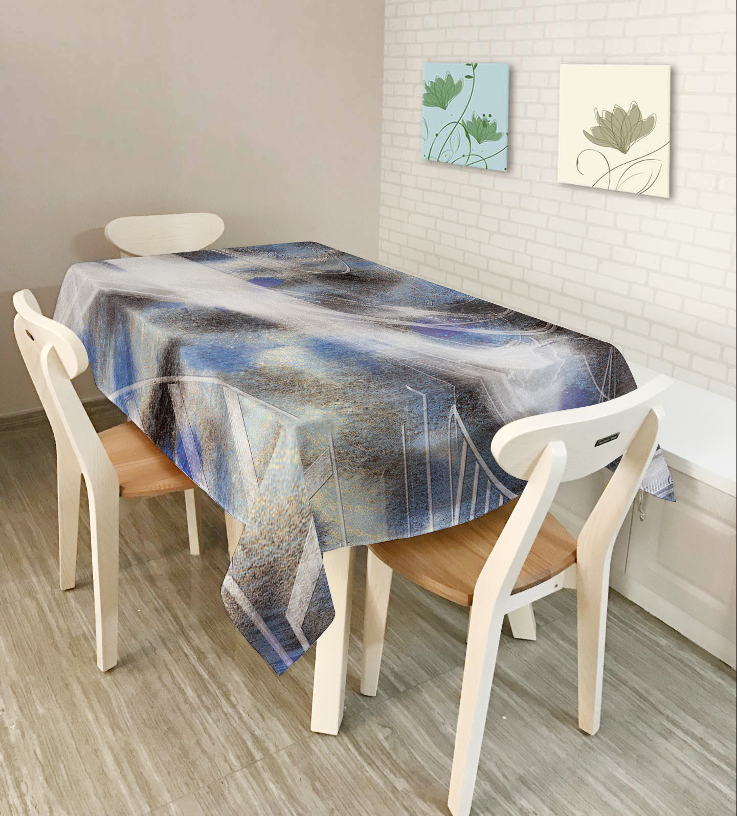 KCASA KC-TC1 American Style Creative Landscape Tablecloth Waterproof Oil Proof Tea Tablecloth Home Party Decorative