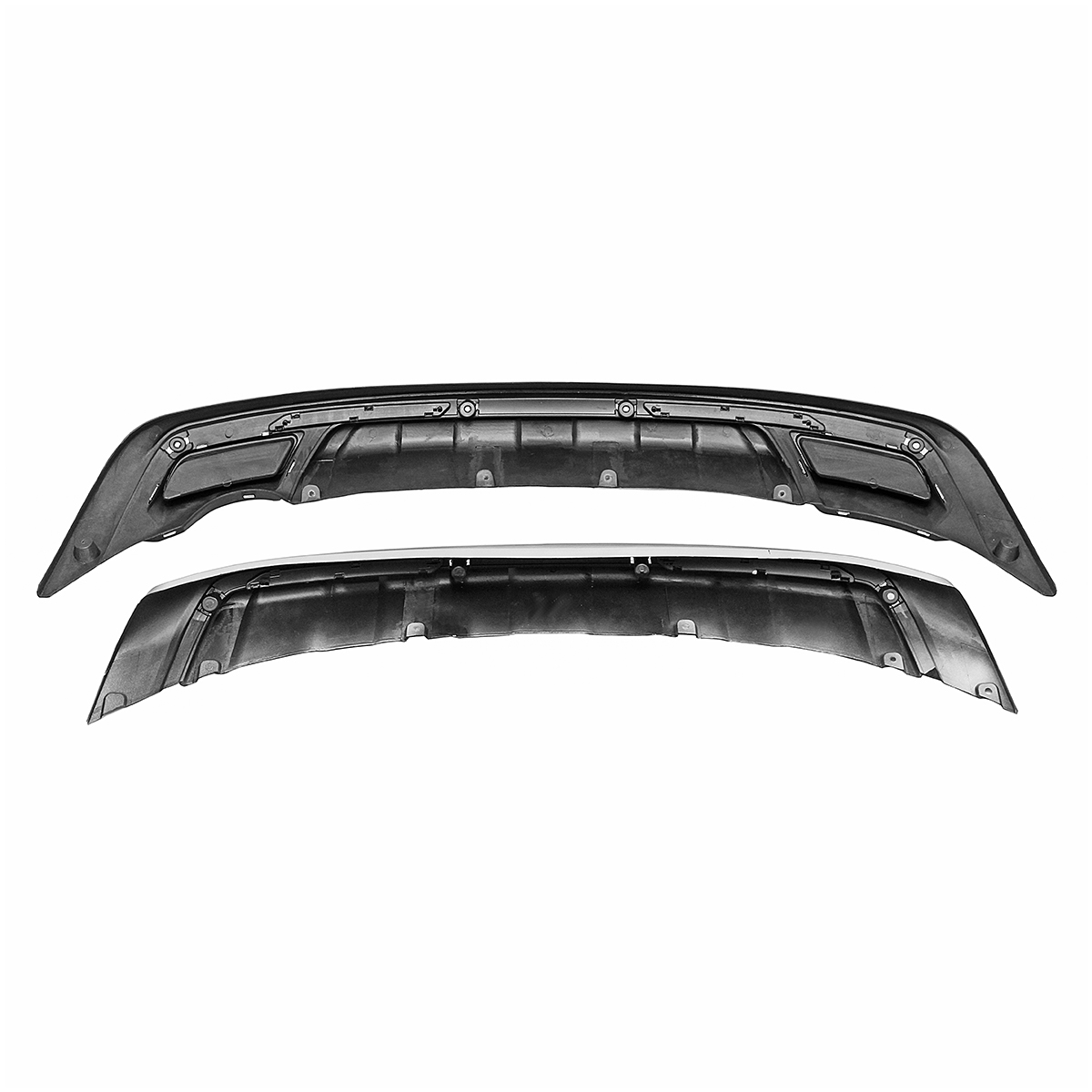 ABS Front And Rear Bumper Protector For KIA Sportage 2010-2014