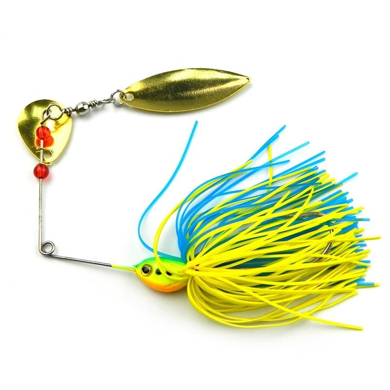 ZANLURE Fishing Lure Buzzbait Spinner Bait Rotary Lures
