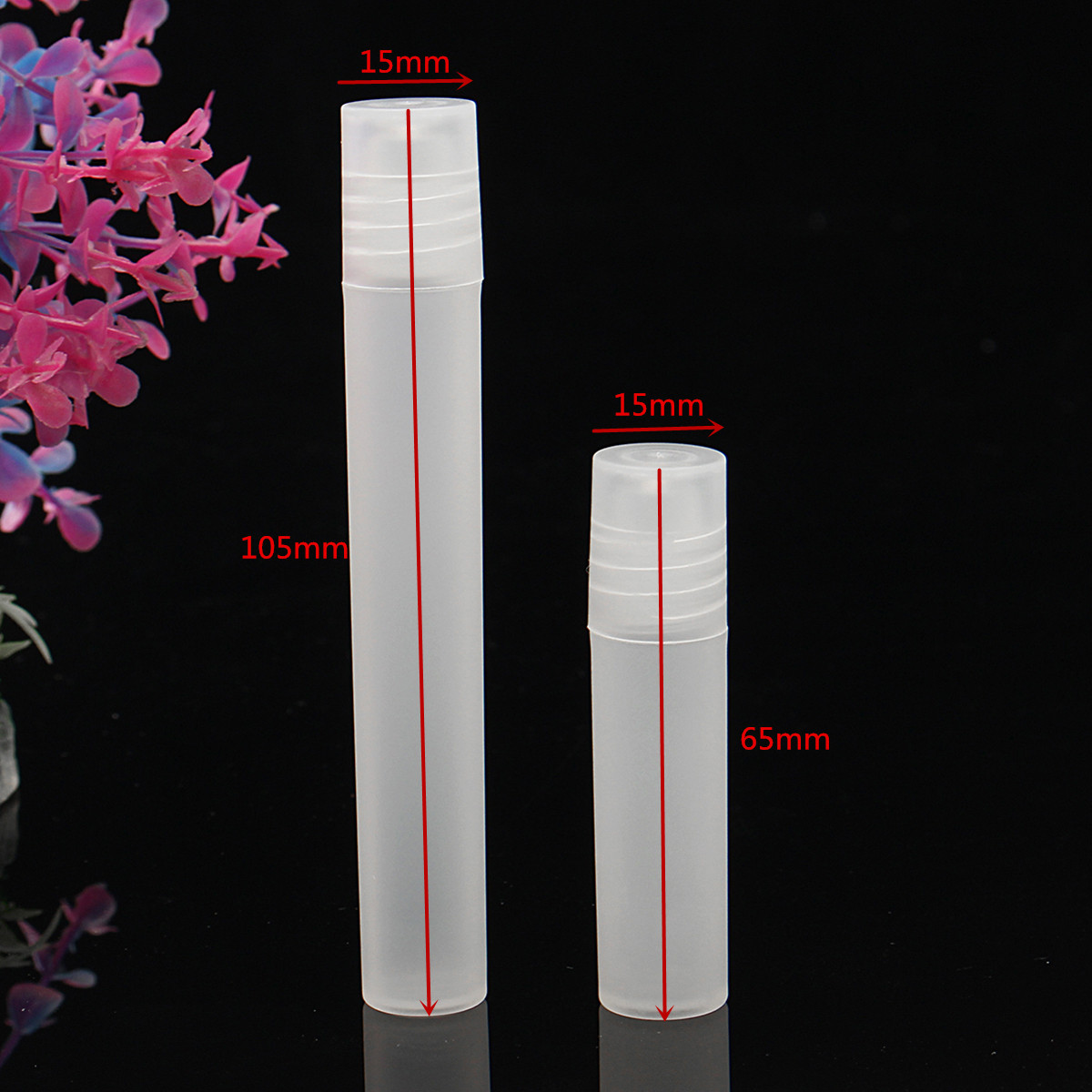 5ml 10ml Empty Roll On Stainles Steel Roller Ball Liquids Oil Perfume Bottle