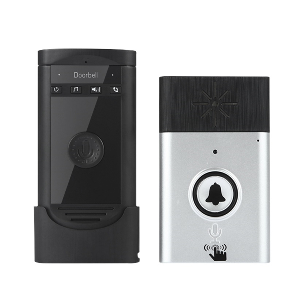 Banggood price history to Wireless Voice Intercom Doorbell Battery Mobile 200M Outdoor Transmitter with Indoor Receiver