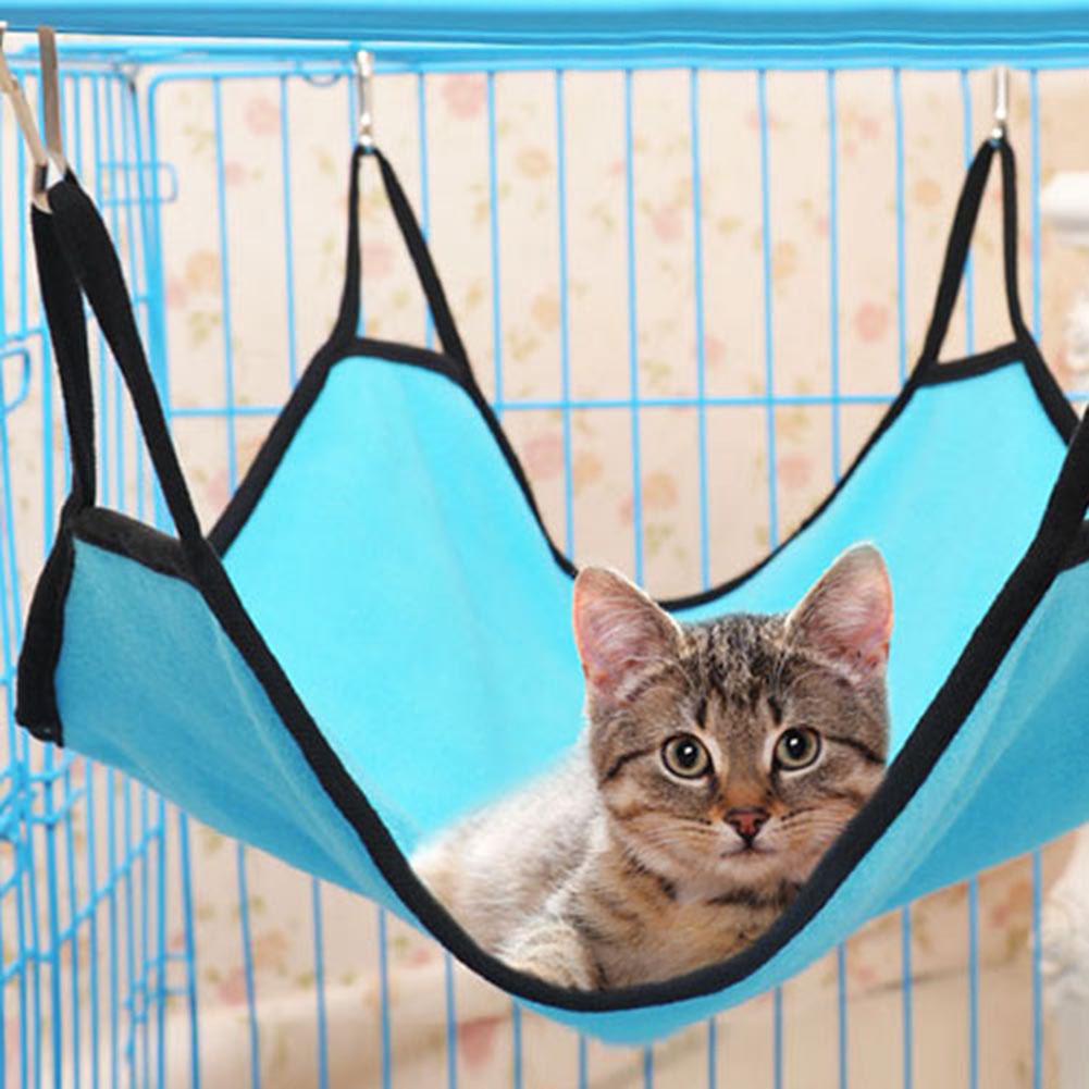 Image of Haustier Katze Hundehängematte Soft Bett Tier hängend Pupply Tröster Frettchen Käfig Haus