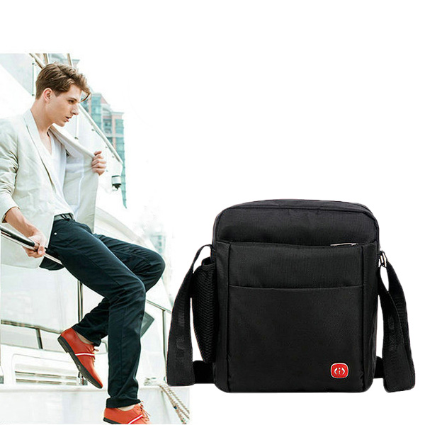 Men Casual Outdoor Sport Business Oxford Cloth Shoulder Crossbody Bag
