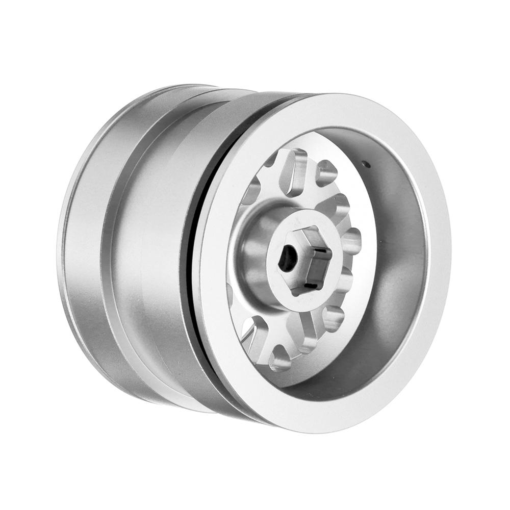 4PCS Per Set 1/10 1/8 2.2 Inch D1RC Rock Crawler Alloy Metal RC Car Wheel Hub For SCX10 TRX4