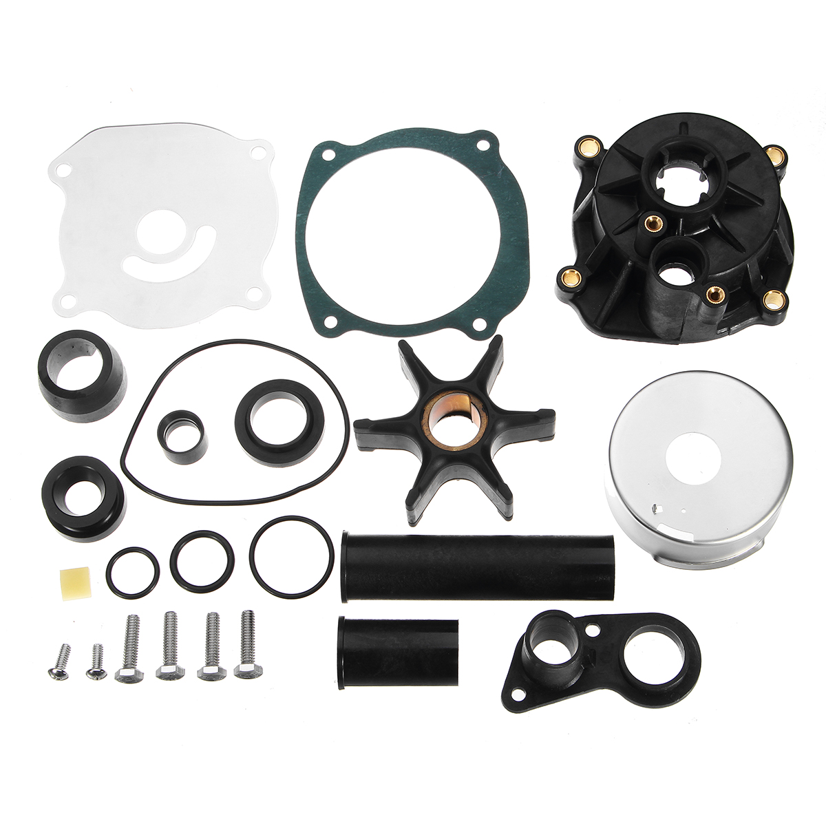 Water Pump Impeller Repair Kit Set Housing For Johnson Evinrude 75-250HP 5001595