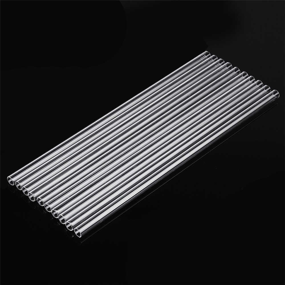 10pcs 300mm OD 10mm 1mm Thick Glass Blowing Tube Borosilicate Tube