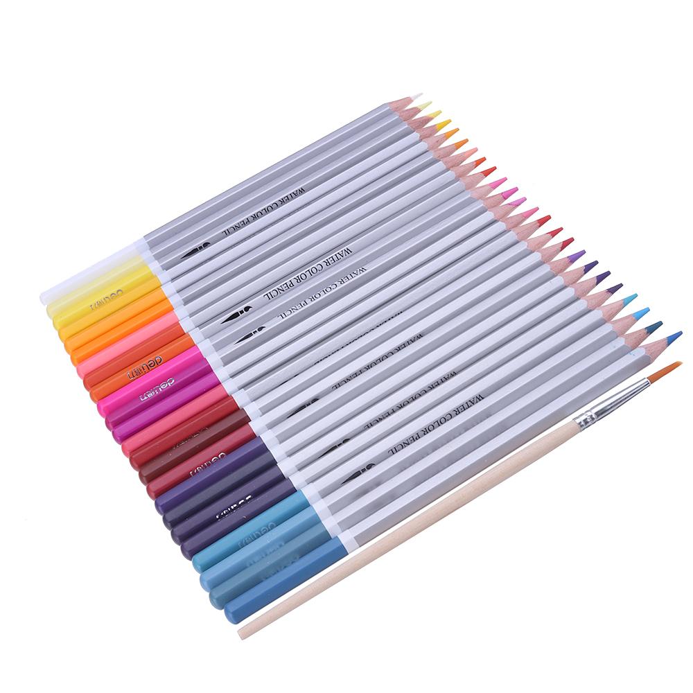 Deli 24/36/48 Colors Drawing Tools Watercolor Pencil