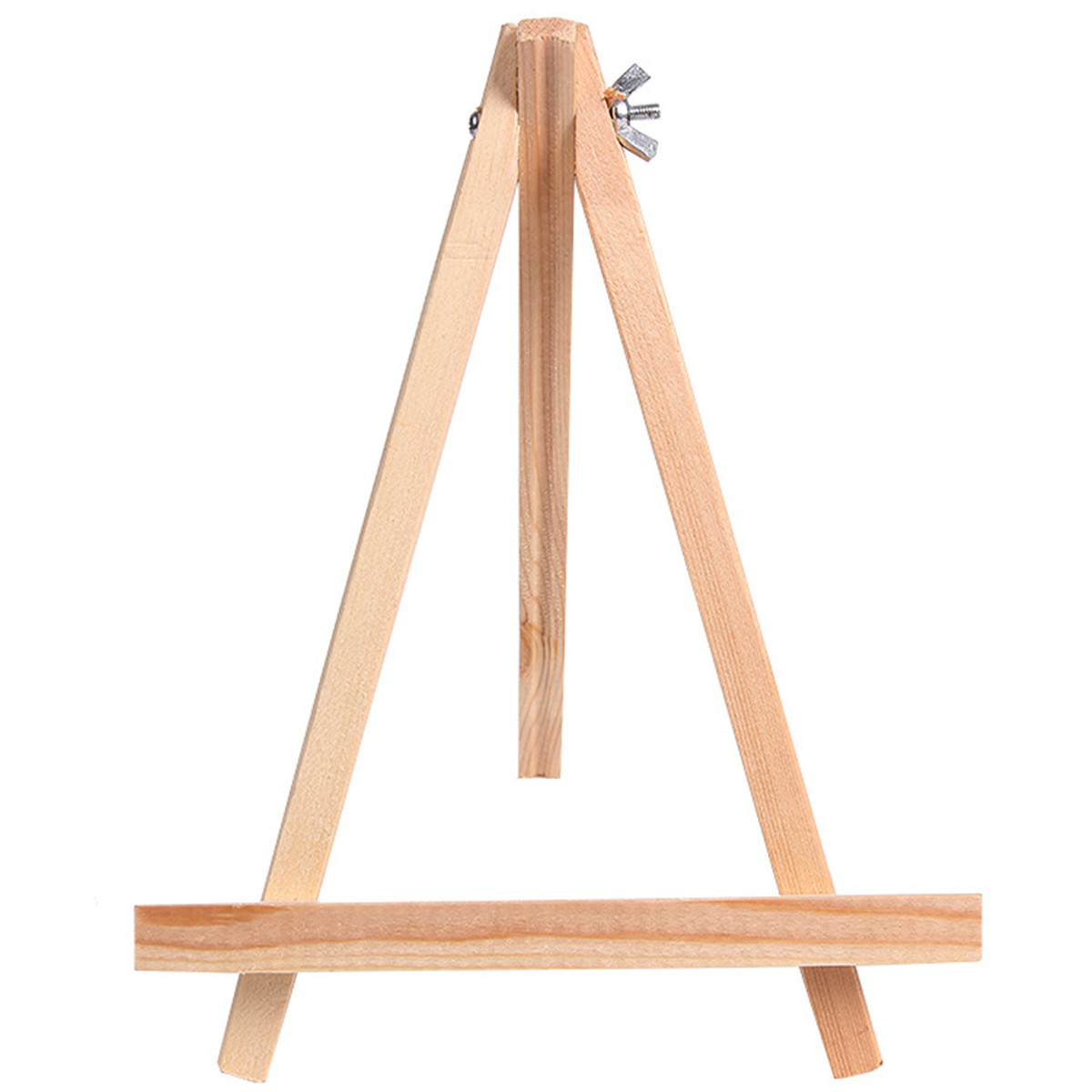 Small Wooden Timber Easel Photo Art Painting Display Ra