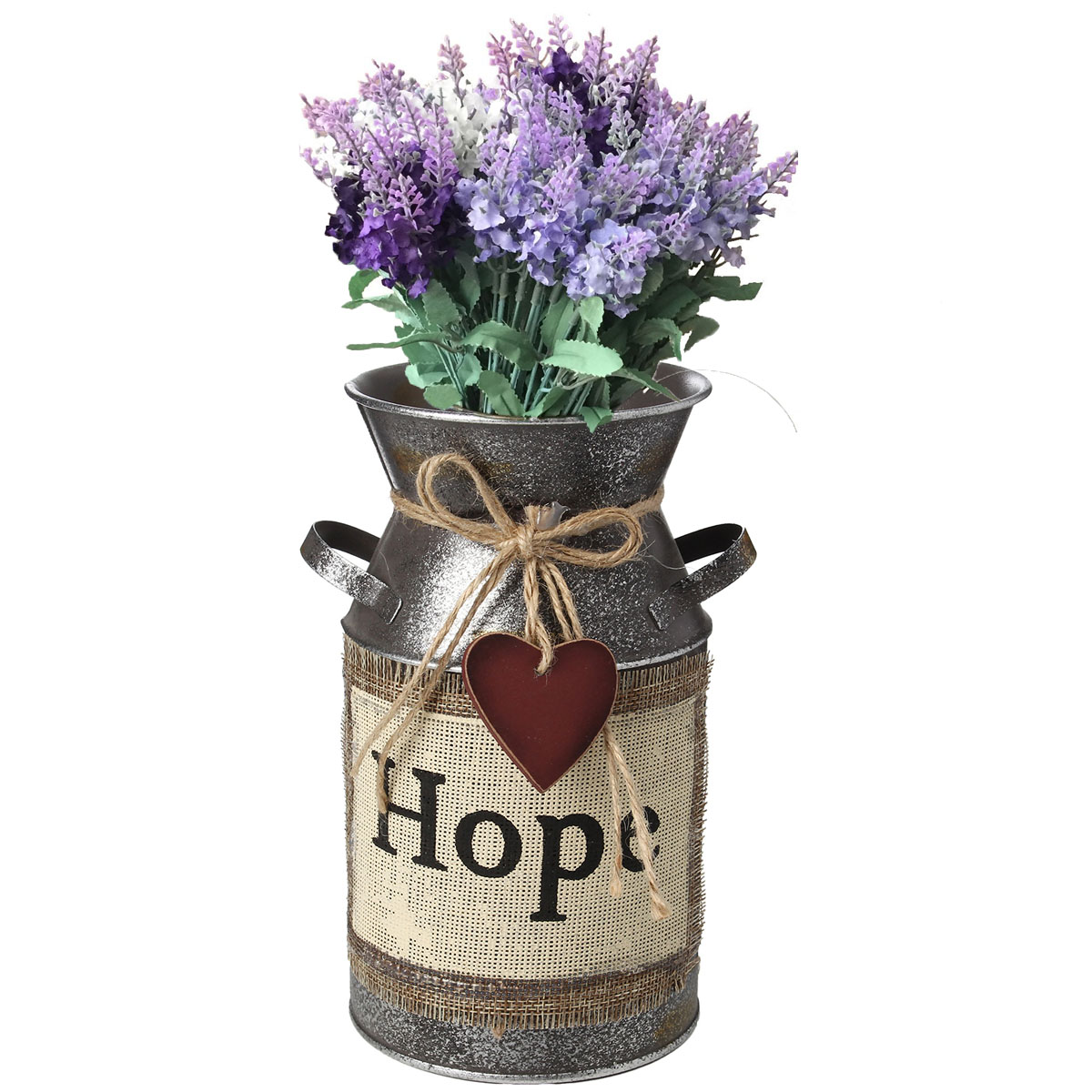Garden Rustic Vintage Shabby Metal Flower Pot Wedding Flower Vase Plant Pot Jug Home Decorations