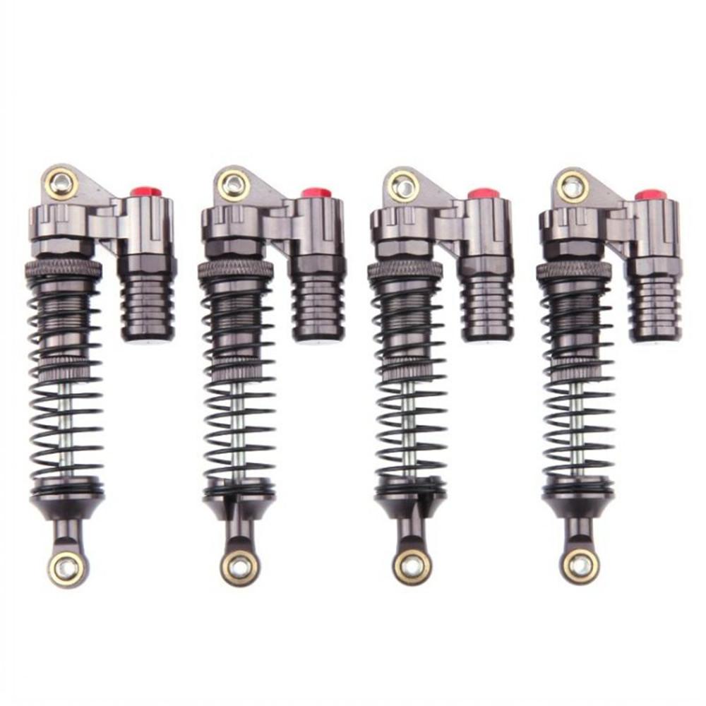4PCS 100mm Aluminum Alloy Shock Absorber for 1/10 Axial SCX10 RC4WD D90 Crawler Rc Car Parts