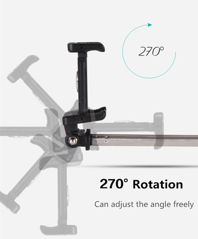Wireless bluetooth 4.0 32-90CM Selfie Tripod Self Timer Camera Holder for Cell Phone under 6 inch