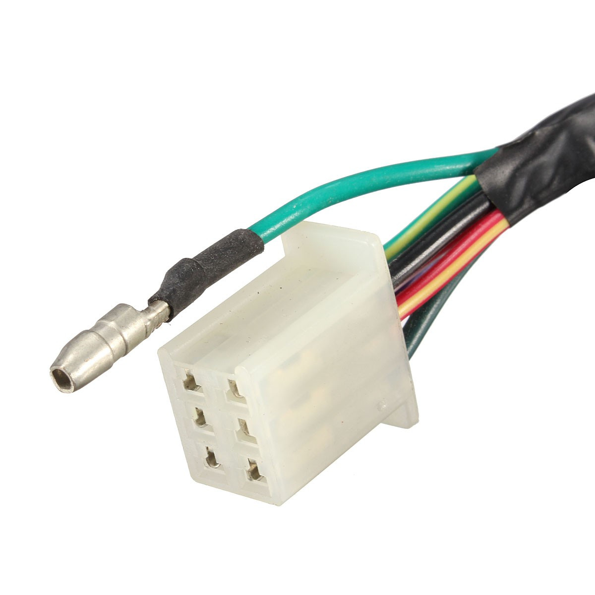 1 Inch Handlebar Control Switches With Wiring Harness For Harley Motorcycle Connector Blocks