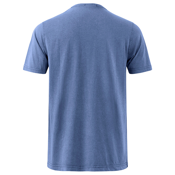 Summer Casual V Neck Comfort Cotton T-shirt Men's Fashion Chest Pocket Tops Tees