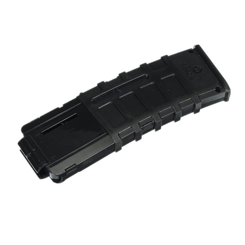 WORKER Mod Black 15Darts Plastic Clip Magazine For Nerf Modify Stryfe Elite Retaliator Blaster Toy