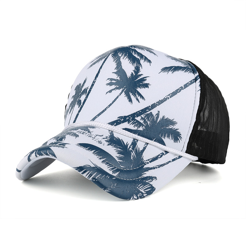 Chinese Ink Painting Sun Baseball Hats Sports Dad Caps