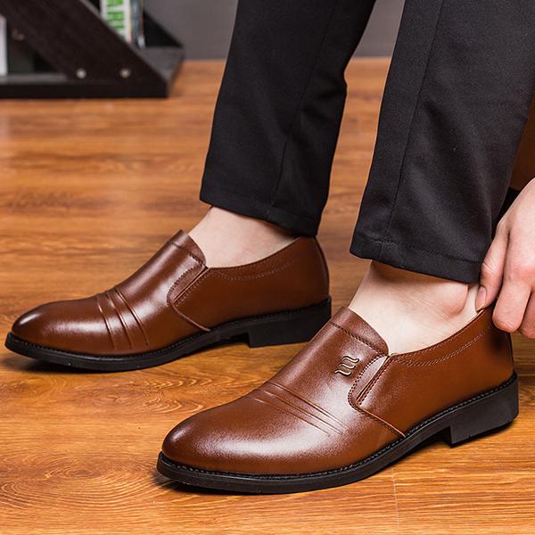 Banggood Shoes Men Business Formal Shoes
