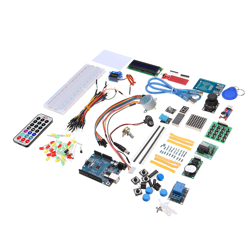 RFID Starter Kits For Arduino R3 Upgraded Version Learning Suite Module Board With Retail Box