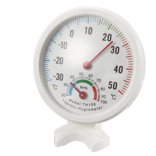 -35-55°C Mini Indoor Analog Temperature Humidity Meter Thermometer Hygrometer