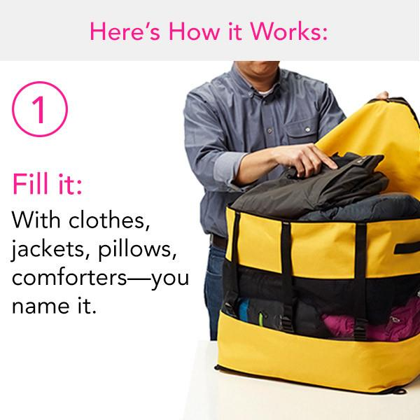 Multifunctional Men Women Baggage Storage Bag Duffle Bag