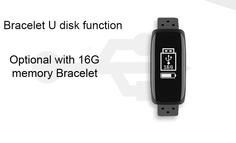 Sports Health Smart bluetooth with USB Charging Smart Wristband for Mobile Phone