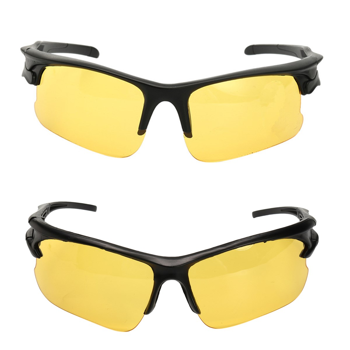 Anti Glare TAC Driving Yellow Lens Sunglasses Night Vision Polarized Glasses